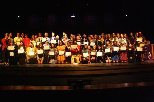 NTHS Inductees