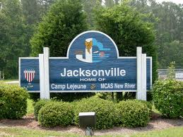 Jacksonville, NC City Sign