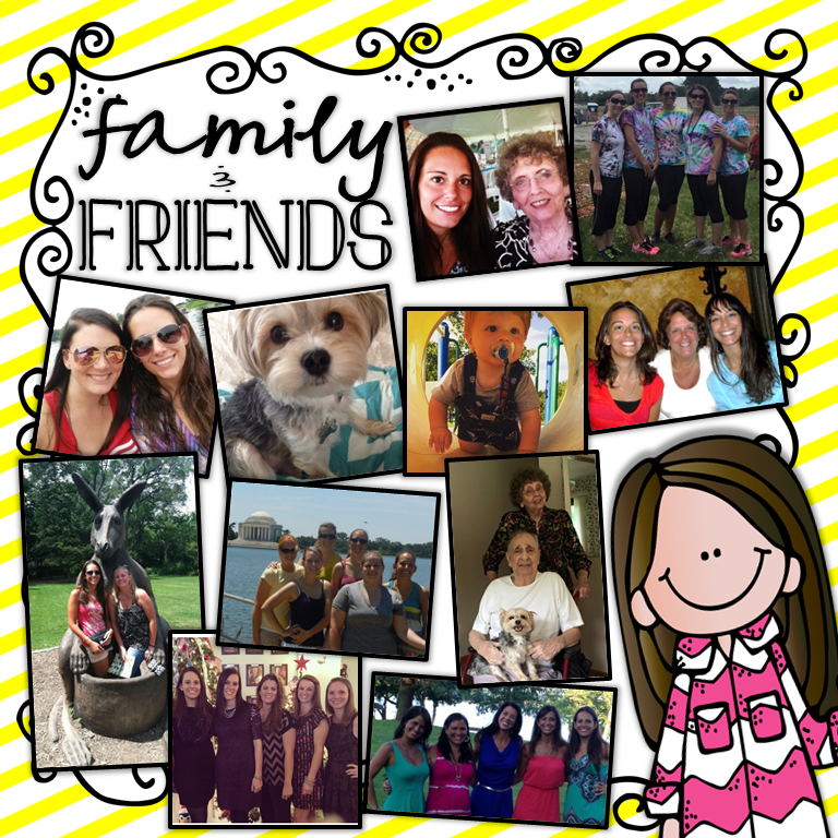 family and friends picture collage