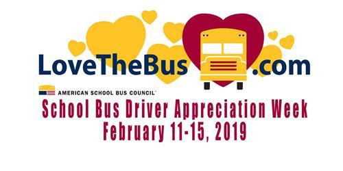 school bus driver appreciation week 2019