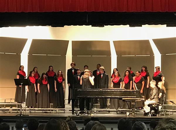 Chamber  Chorale at our spring concert 2018