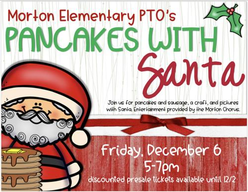 PTO's Pancakes with Santa