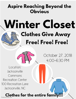 Clothes Give Away