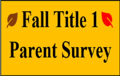Fall 2019 Title 1 Parent Survey