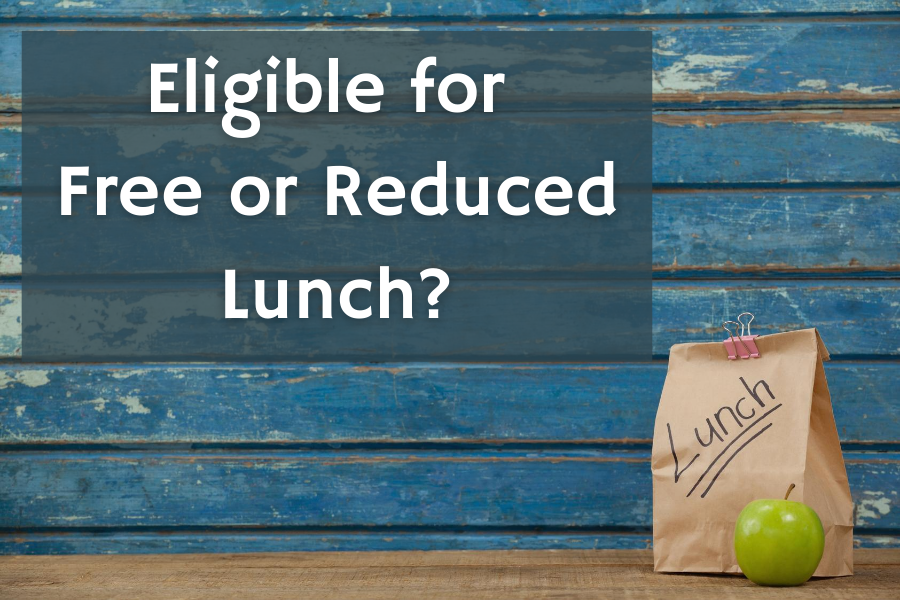 Click Here to Apply for Free and Reduced Lunch