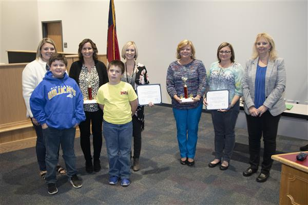Red Ribbon Week's Most Creative winners are recognized