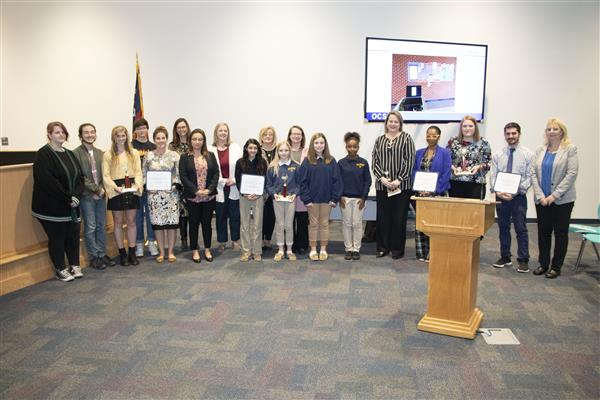 Red Ribbon Week's Best Overall winners are recognized