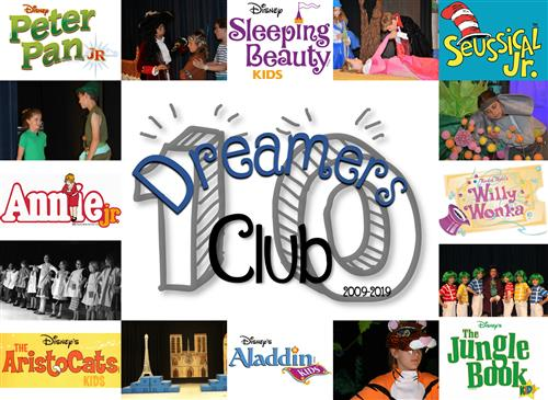 10 years of Dreamers Club
