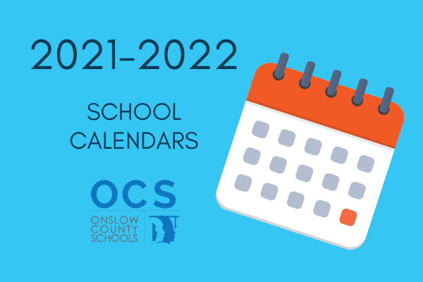 2021-2022 School Calendar Graphic