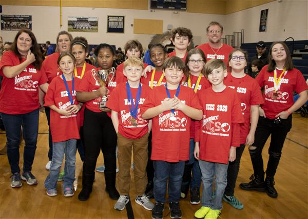 Hunters Creek Elementary took 3rd place