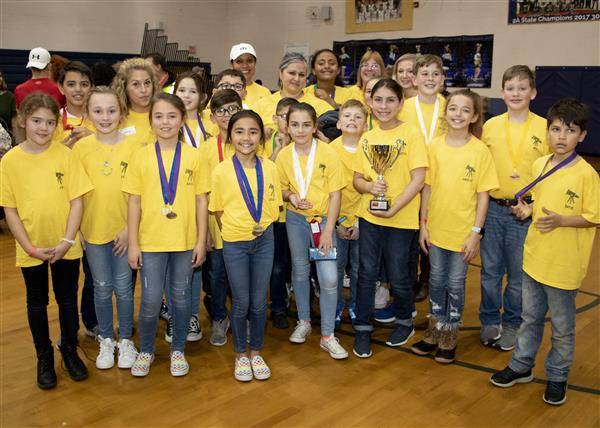 Carolina Forest Elementary took 4th place