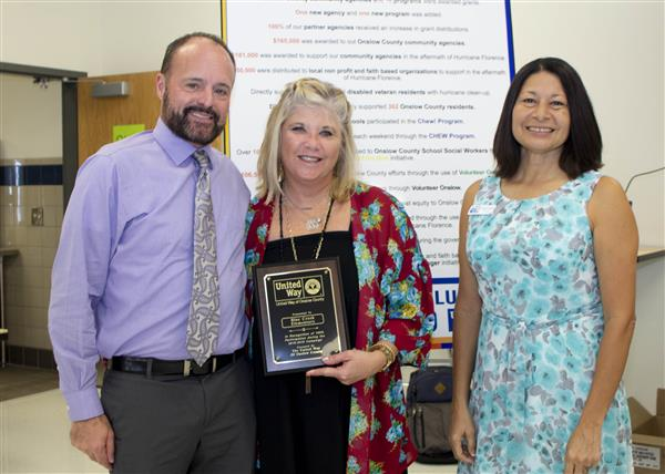 Blue Creek Elementary is recognized for 100 percent participation