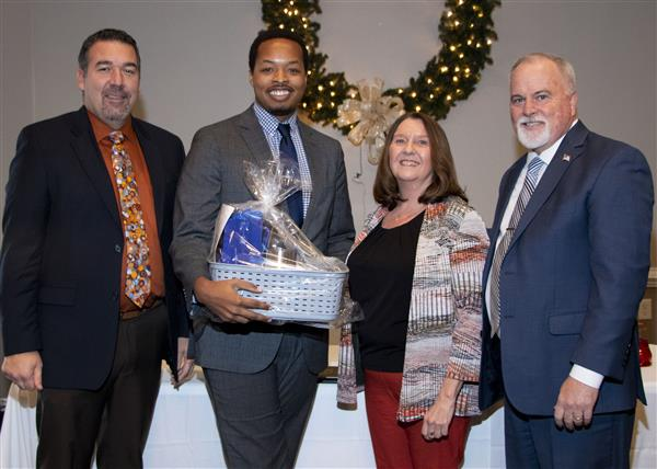 Daniel Scott is recognized at Salute to Excellence