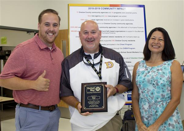 Dixon High is recognized for 100 percent participation