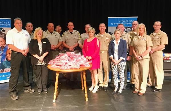 Navel Medical Center, Onslow County and OCS representatives held a joint Stop the Bleed event