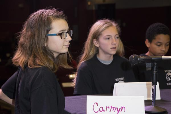 Students from Southwest Middle compete in Battle of the Books