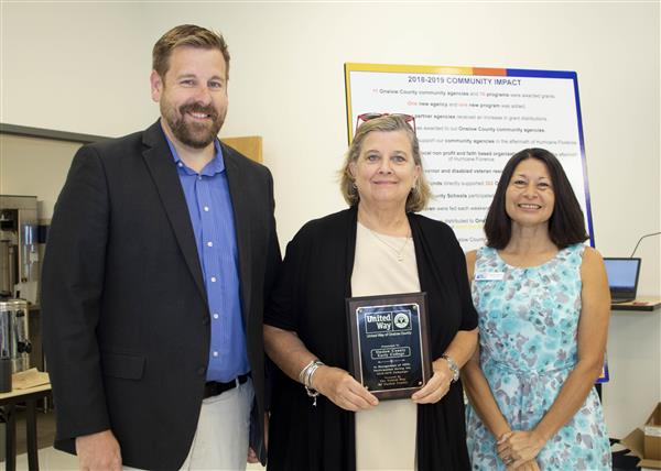 Onslow Early College is recognized for 100 percent participation