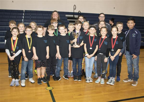 Queens Creek Elementary took 6th place