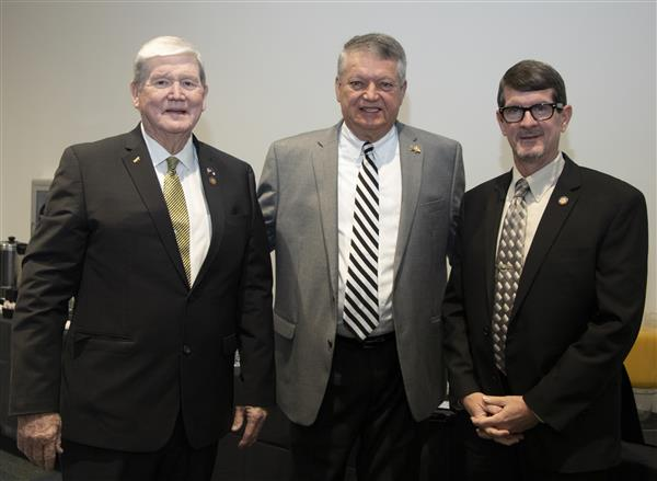 Representatives Jimmy Dixon and Carson Smith and Senator Norman Anderson attended the event