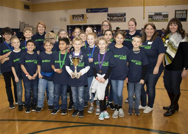 Silverdale Elementary took 5th place