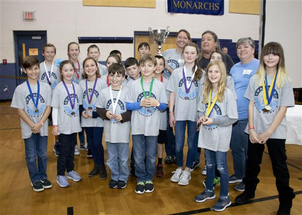 Swansboro Elementary took 1st place