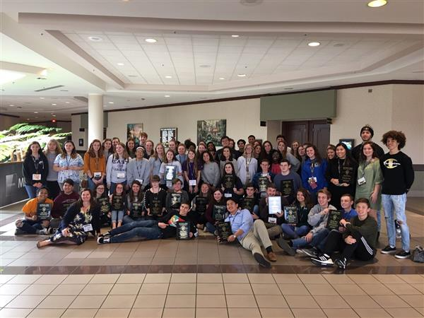 Sixty-eight students from RHS competed at the NC Beta Convention