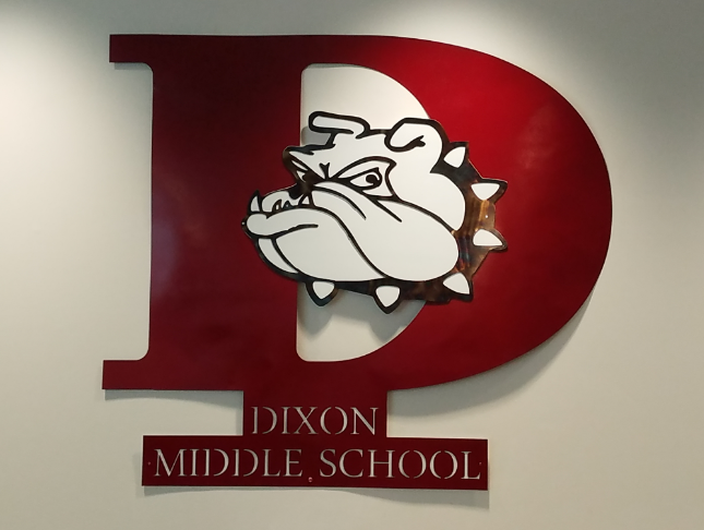 Dixon Bulldog Sign
