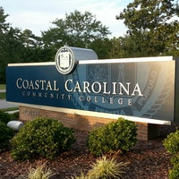 CCCC sign in front of campus