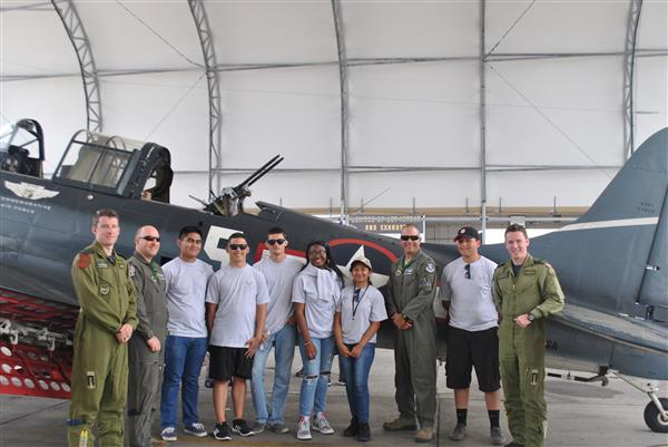 Cadets at the Air Show
