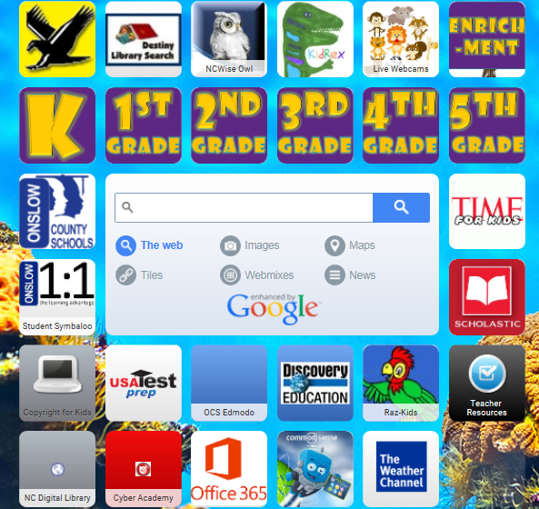 SSES Symbaloo