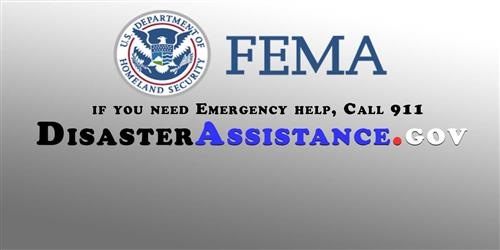 FEMA logo and link