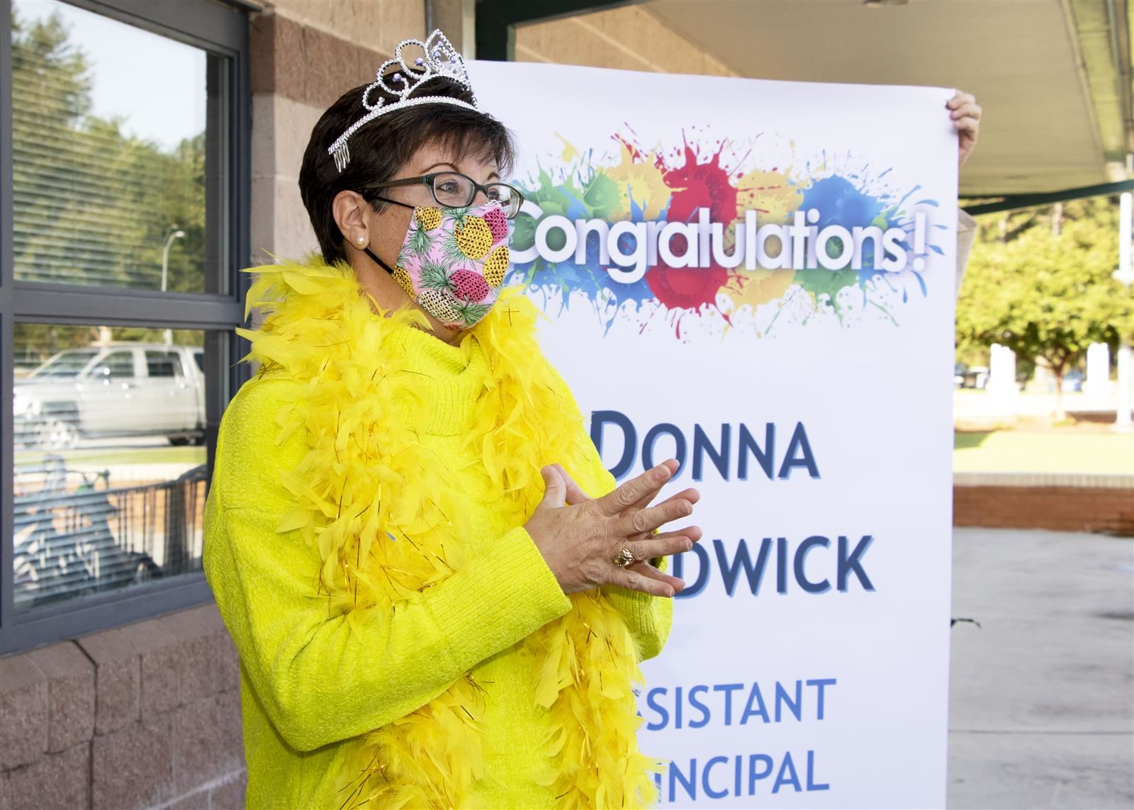 Donna Chadwick was named OCS APOY on September 22