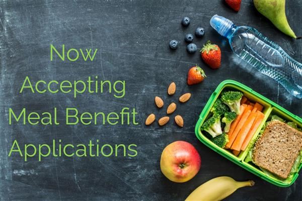 Meal Benefit Applications open