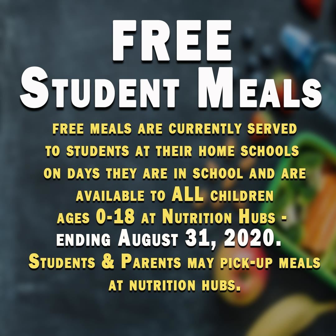 Student Nutrition Info