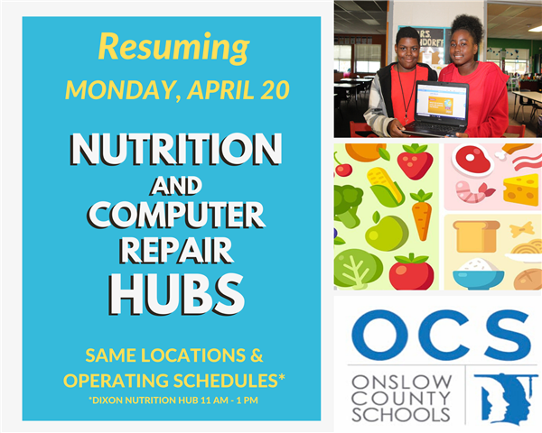 Nutrition Hub and Computer Repair information