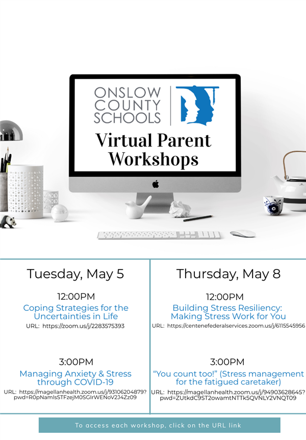 Virtual Parent Workshops