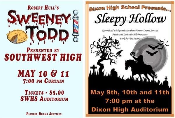 Sweeney Todd and Sleepy Hollow information