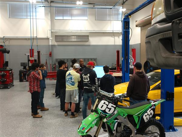 Universal Technical Institute visits ENCRSC