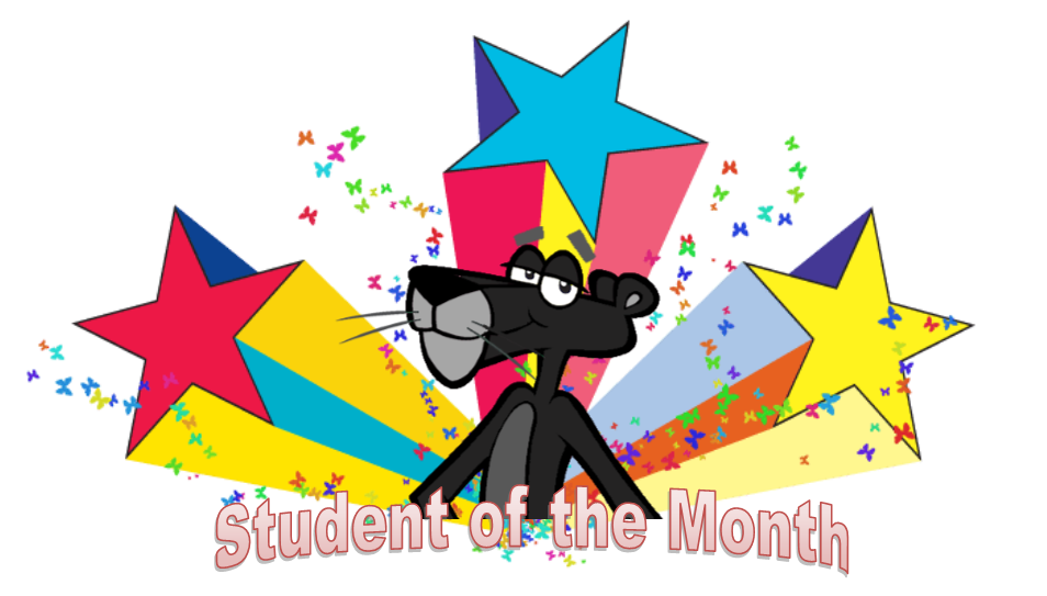 Congratulations Students of the Month for October